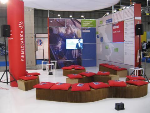 Lo stand di GRIS certificato ISO 20121