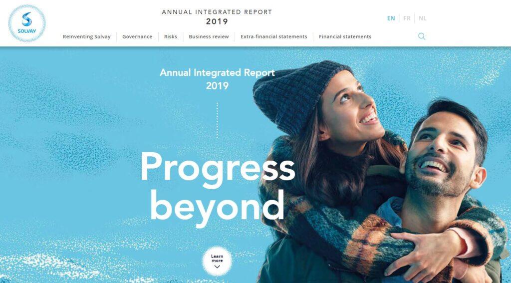 Report integrato Solvay 2019
