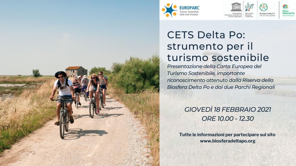 turismo sostenibile nella Biosfera Delta Po presentazione della Carta Europea CETS